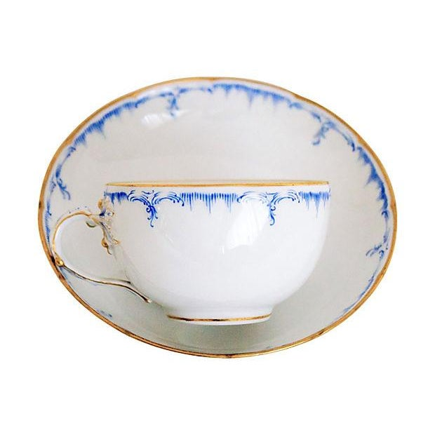 Royal Berlin Cups & Saucers- Set of 4 - Image 1 of 7