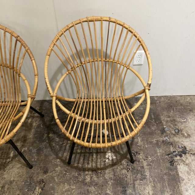 Mid Century Chairs - a Pair For Sale In Houston - Image 6 of 9