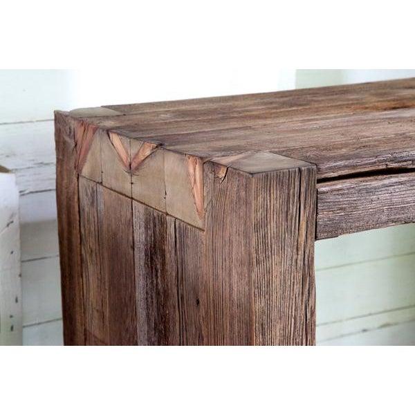 Modern Organic Artisan Made Solid Wood, All Wood Bathroom Vanities