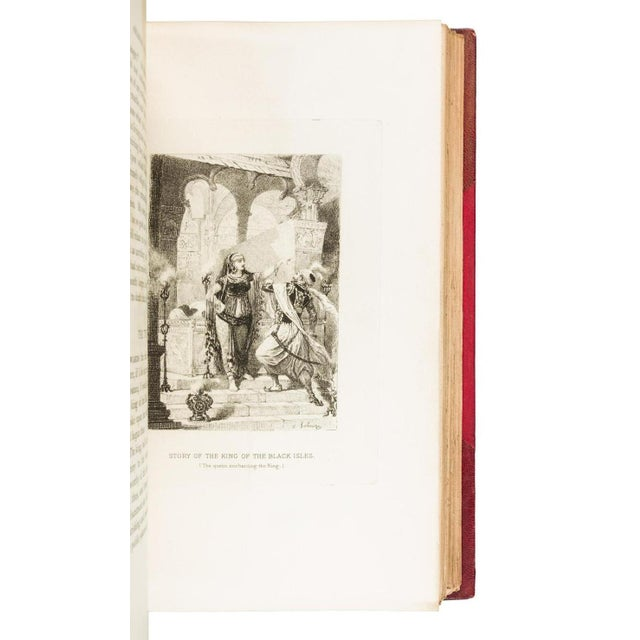 Traditional 19th Century Antique j.c. Nimmo and Bain Arabian Nights Entertainments Books - Set of 4 For Sale - Image 3 of 4