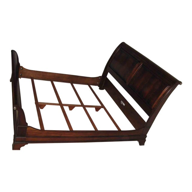 Ethan Allen King Sleigh Bed For Sale