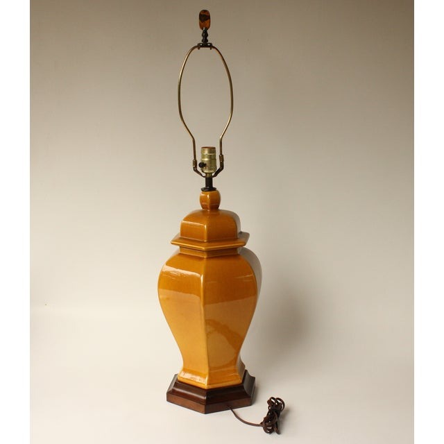 Royal Haeger Ginger Jar Table Lamp - Image 7 of 7