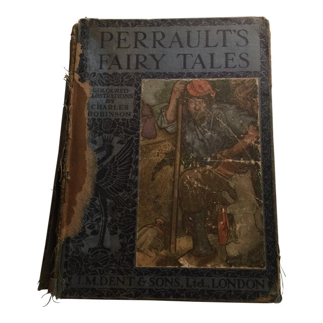 Perrault's Fairy Tales Book, C. 1913 For Sale