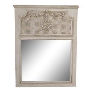 French Provincial Style Decorator Mirror For Sale