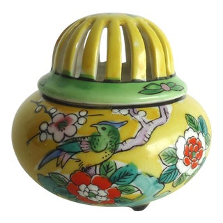 Vintage Japanese Cone Incense Burner