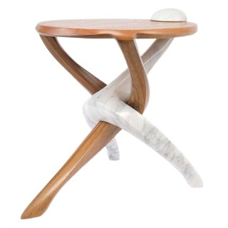 Markus Haase, Crossover Teak Table, Usa, 2014 For Sale