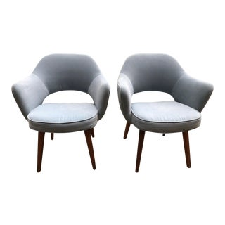 Knoll Saarinen Executive Arm Chairs - a Pair