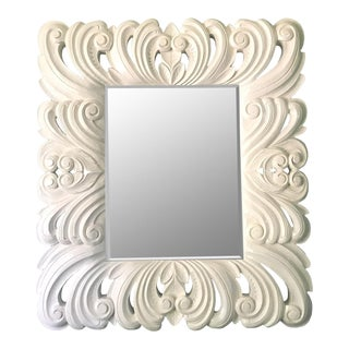 Large Baroque Framed Mirror in the Manner of Dorothy Draper For Sale