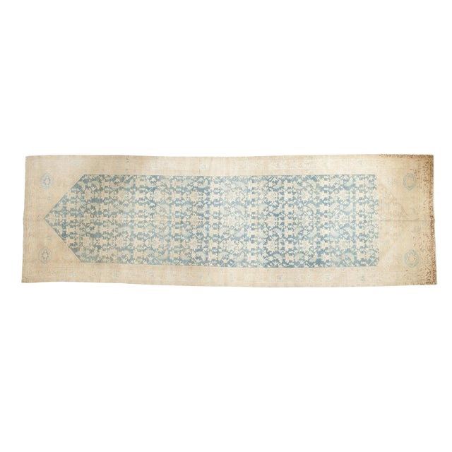 """Vintage Distressed Malayer Rug Runner - 5'3"""" X 16'5"""" For Sale"""