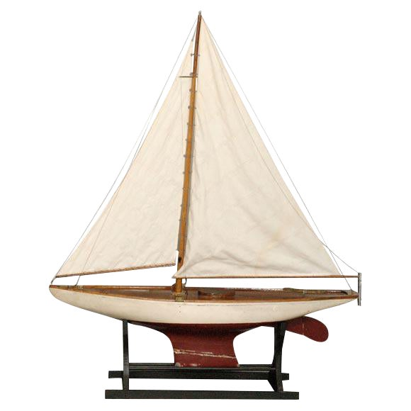 Large American Pond Boat - Image 1 of 8