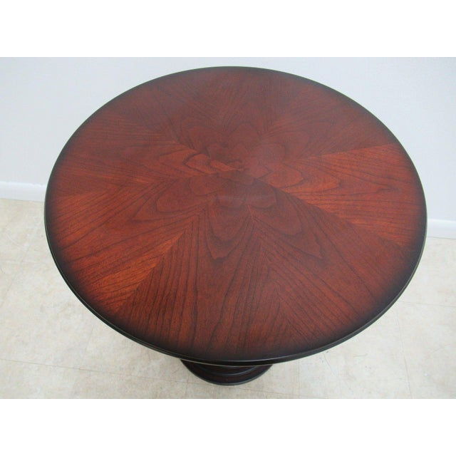 Bombay Company Cherry End Table For Sale - Image 5 of 11