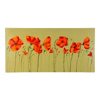 """""""Poppies"""" by Robert Allison For Sale"""