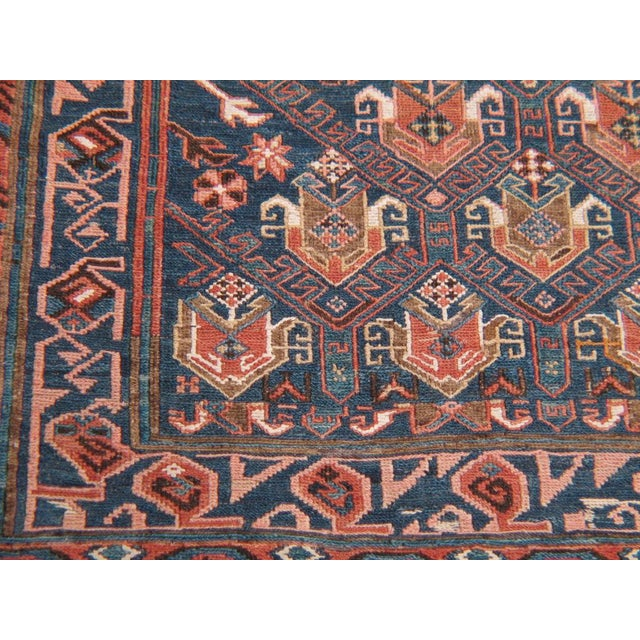 Antique Sumak Runner For Sale In New York - Image 6 of 7