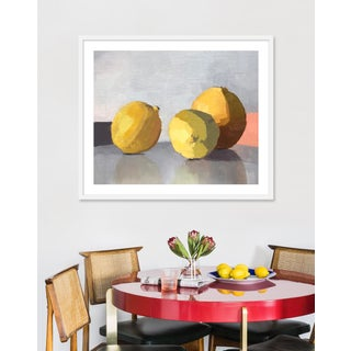 "Medium ""Three Lemons"" Print by Caitlin Winner, 37"" X 31"" Preview"