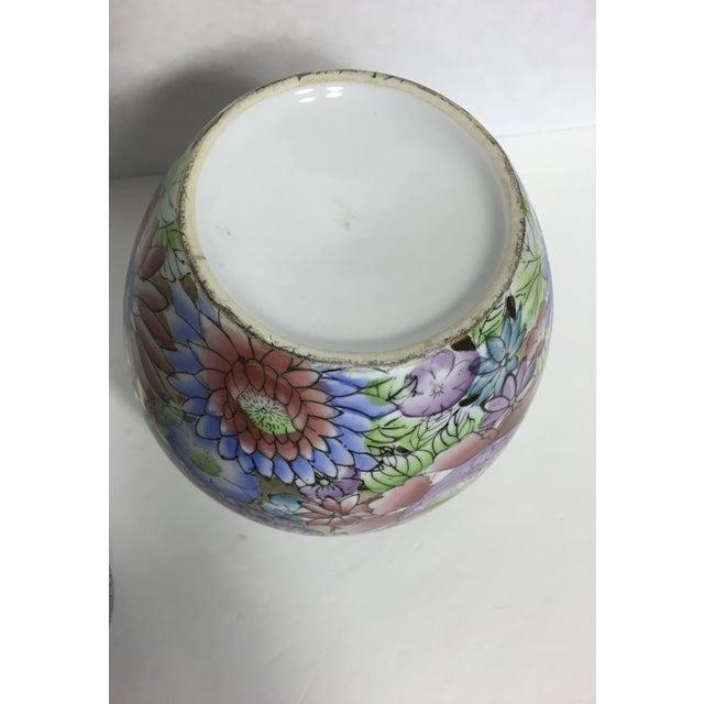 Gold Gilt Botanical Ceramic Ginger Jar - Image 4 of 6