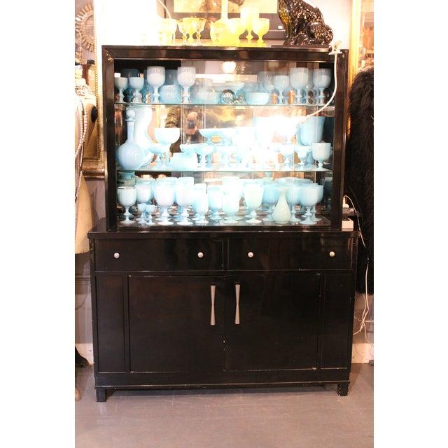 Okamura Mid-century Japanese Metal Cabinet For Sale - Image 4 of 4