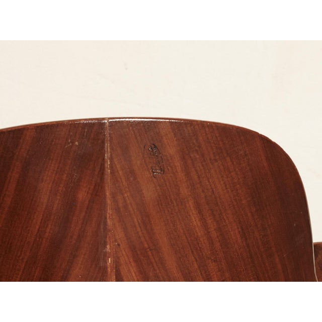 Bentwood Vittorio Nobili for Fratelli Tagliabue Desk Chair, Italy, 1950s For Sale - Image 7 of 8