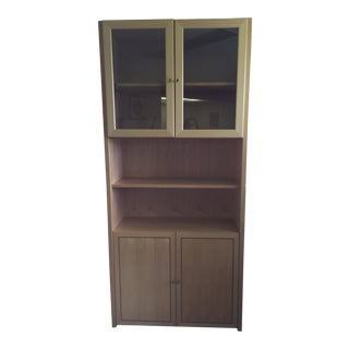 Scandinavian Modern Bookcase/Cabinet For Sale