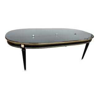 20th Century Regency Maison Jansen Directoire Style Dining Table For Sale