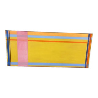 Horizontal Abstract Signed by Ilya Bolotowsky For Sale