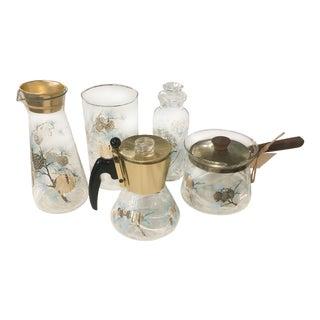 1960s David Douglas Collection Glassware - Set of 5 For Sale