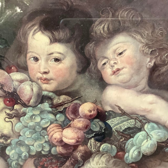 19th Century Garland of Fruit Print by Peter Paul Rubens For Sale - Image 4 of 8