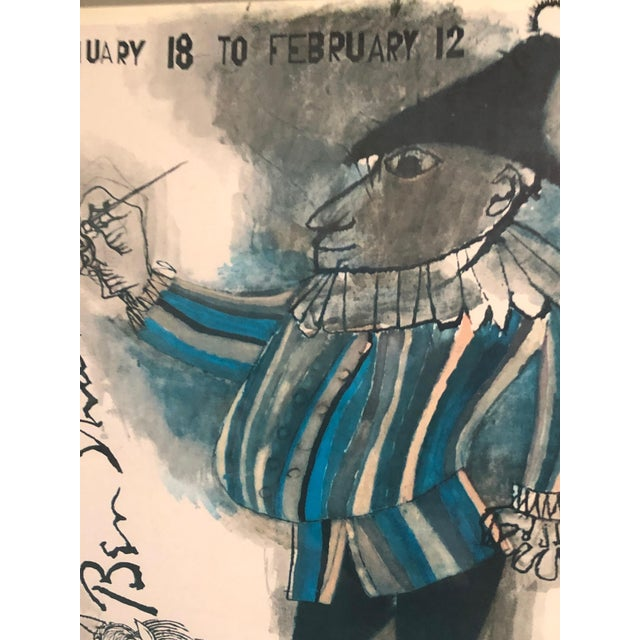 Paper Poster by Renowned Artist Ben Shahn For Sale - Image 7 of 9