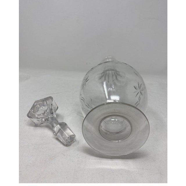 Mid 19th Century Antique French Decanter With Stopper For Sale - Image 5 of 6