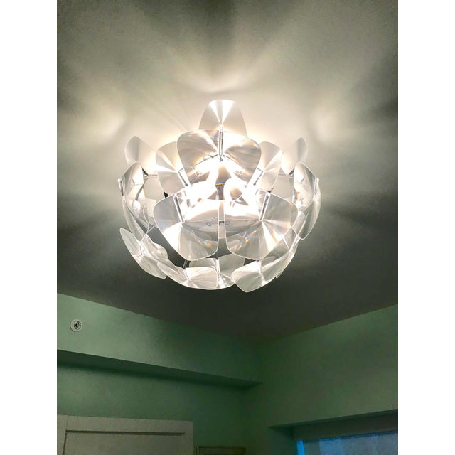 Abstract Hope Modernist Ceiling Light With Reflective Prisms by Luceplan, Italy 2018 For Sale - Image 3 of 13