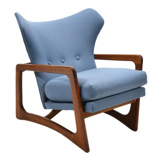 Adrian Pearsall Wingback Lounge Chair by Craft Associates