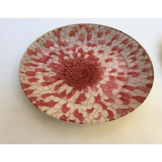 John Derian Decoupage Floral Plates A Pair Chairish