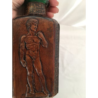 Italian Tooled Leather Bottle Preview