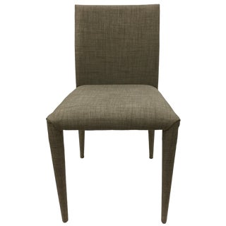 Moe's Home Collection Gray Upholstered Side Chair For Sale