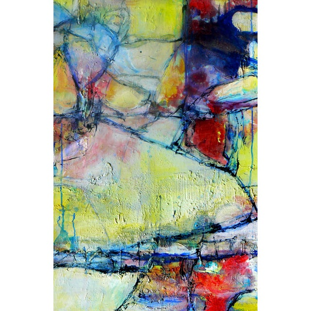 Abstract Painting Rhapsody of Spring - Image 1 of 4