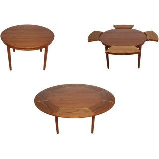 "Dyrlund ""Flip-Flap"" Lotus Dining Table"