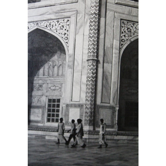 Mid 20th Century Taj Mahal Architectural Photograph For Sale - Image 5 of 6