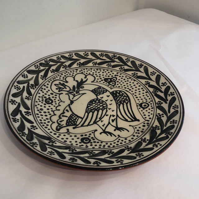 Hand-Painted, Portuguese Plate For Sale In Atlanta - Image 6 of 8