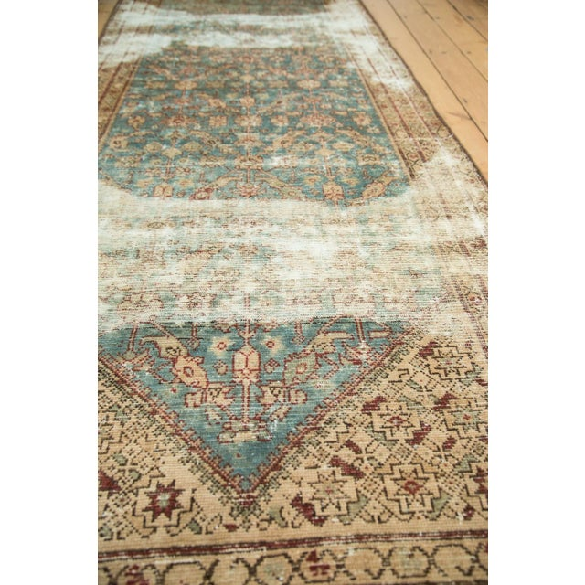 """Antique Malayer Rug Runner - 3'6"""" x 13'3"""" - Image 9 of 10"""