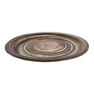 1960s Mid-Century Modern Gordon & Jane Martz, Marshall Studios Ceramic Platter For Sale