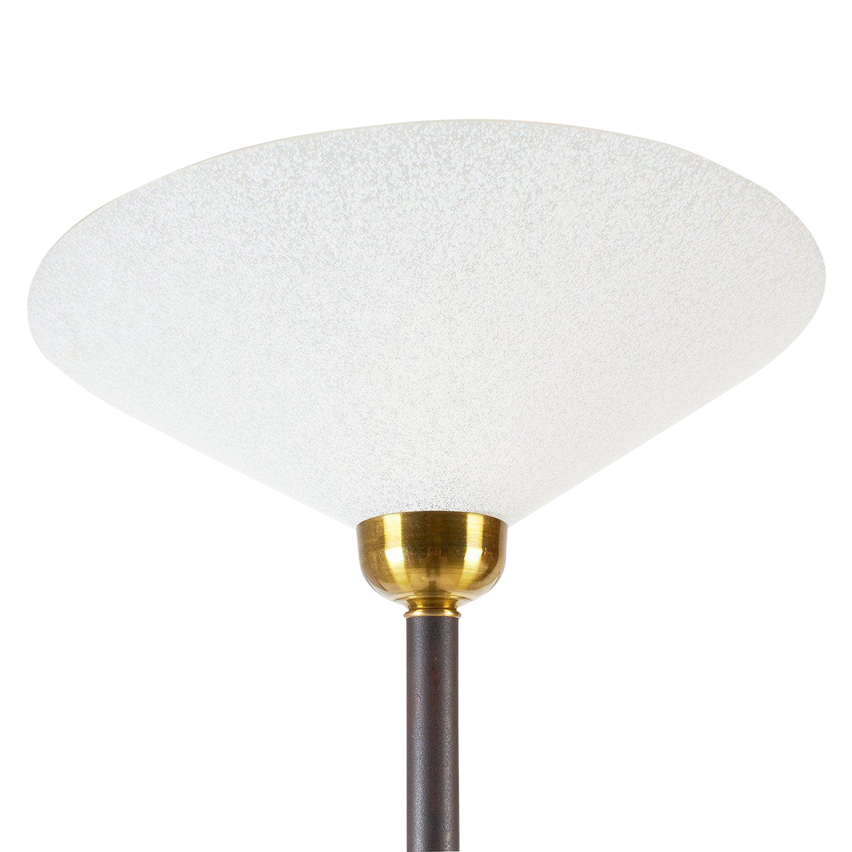 Tall Italian Torchiere Floor Lamp Chairish