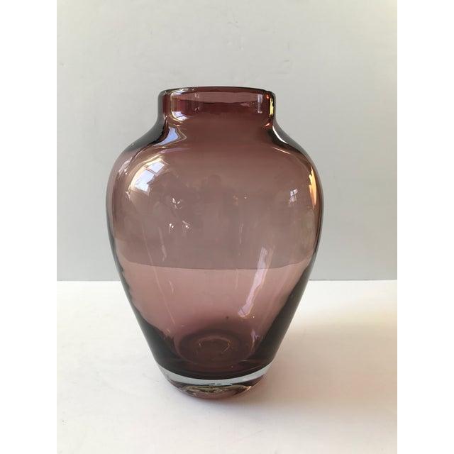 Amethyst Art Glass Vase - Image 6 of 6