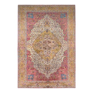Early 20th Century Agra Rug For Sale