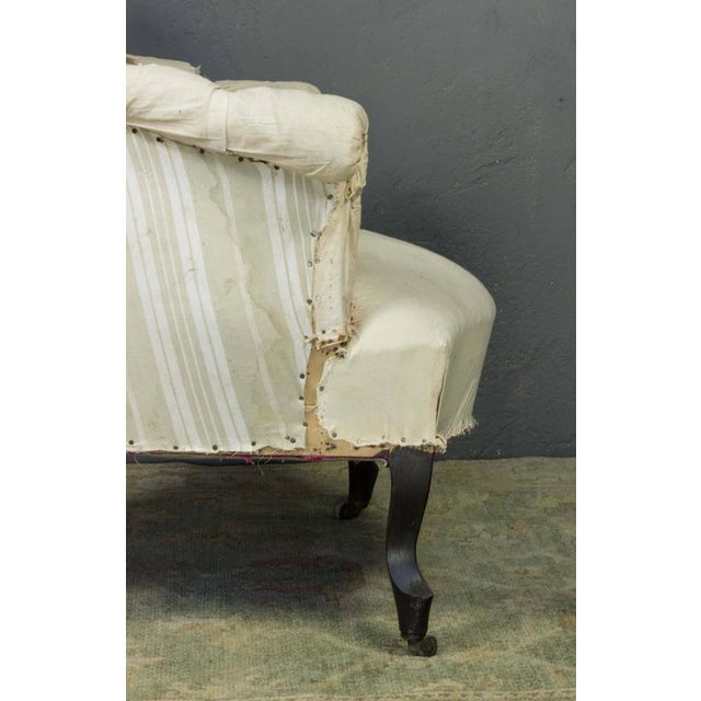 Pair of French Armchairs in Muslin - Image 10 of 11