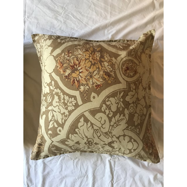 Traditional Pottery Barn Pillows - A Pair For Sale - Image 3 of 5