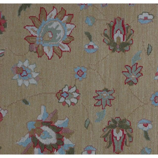 Soumak Design Hand Woven Wool Rug - 4' X 6' - Image 2 of 5