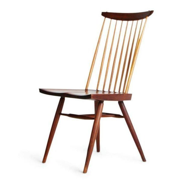 "George Nakashima George Nakashima ""New"" Chairs, Set of Eight, Authenticated 1960s Production For Sale - Image 4 of 13"