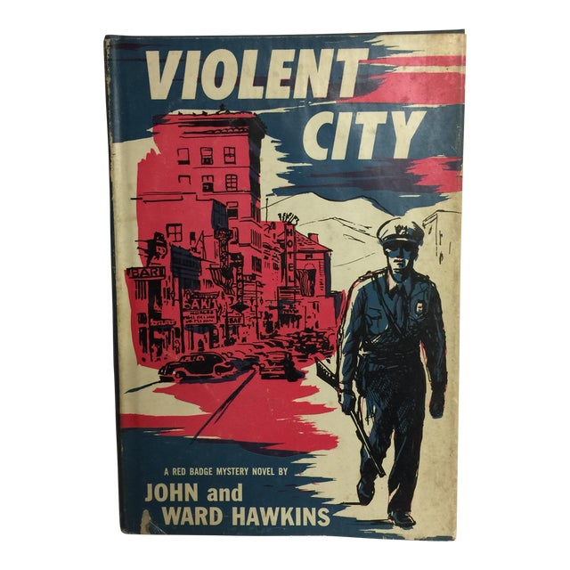 Violent City by John and Ward Hawkins 1957 For Sale