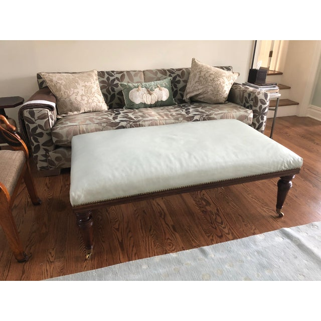 Traditional 1990s Vintage Ottoman Coffee Table For Sale - Image 3 of 11