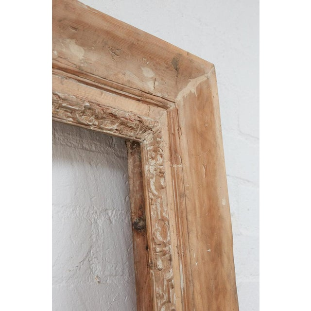 French Large Antique Frame For Sale - Image 3 of 4