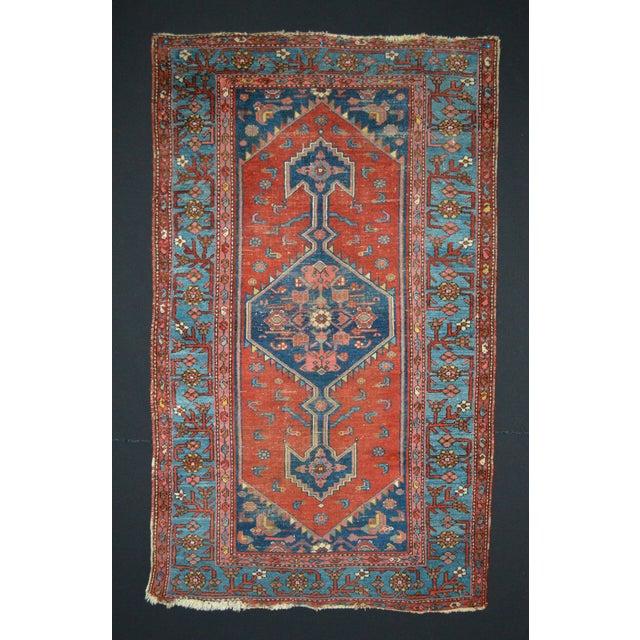 "Vintage Persian Rug - 3'7"" x 6'1"" - Image 2 of 5"